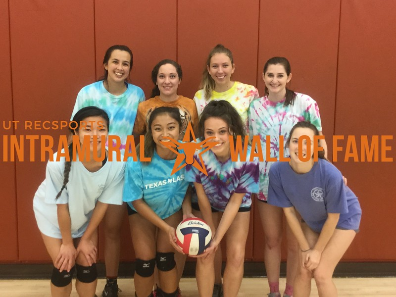 Fall 2017 Volleyball Women's A Champion Pepper-onis