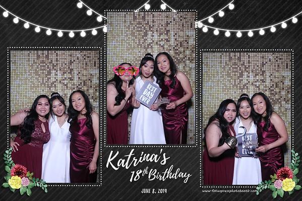 Katrina's 18th Birthday