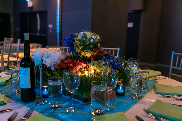 Decor & Atmosphere at Stage 48 for Southwell Bar Mitzvah