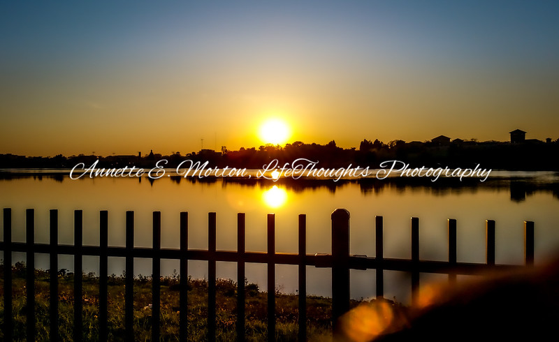 """Glow"" Lake Montebello, Baltimore MD"