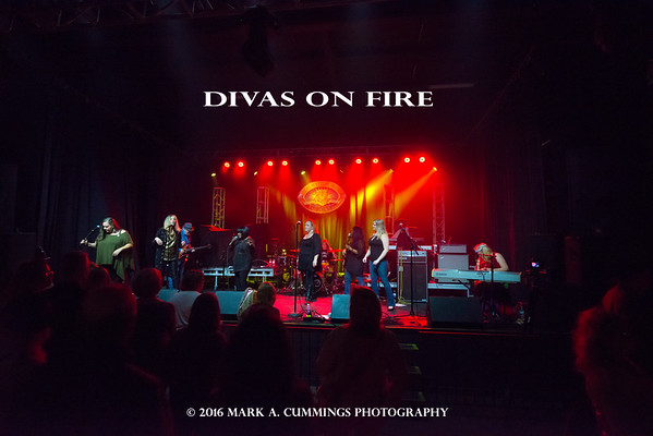 DIVAS ON FIRE