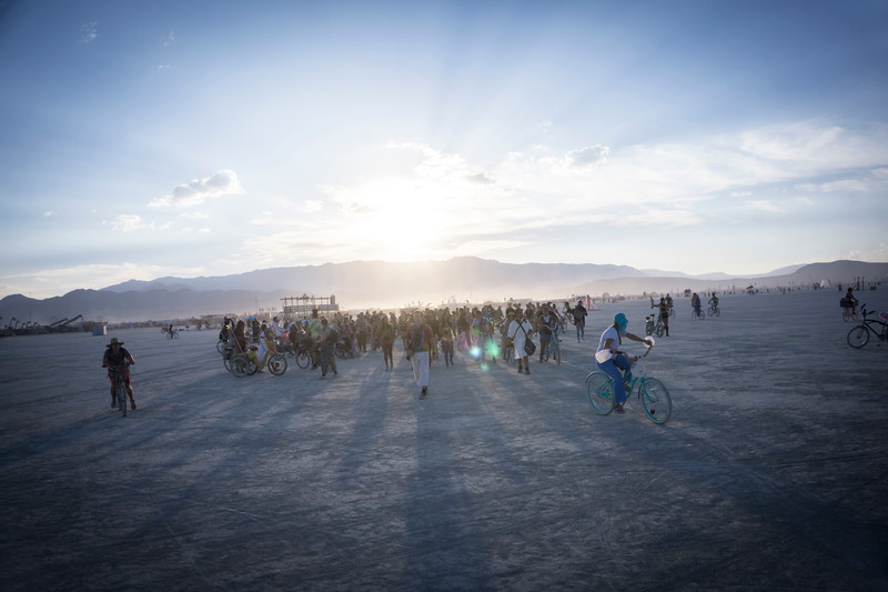 Burning Man photographers take to the playa