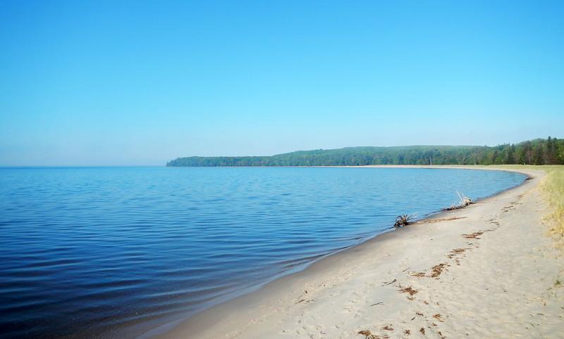 Pancake Bay Provincial Park Beach