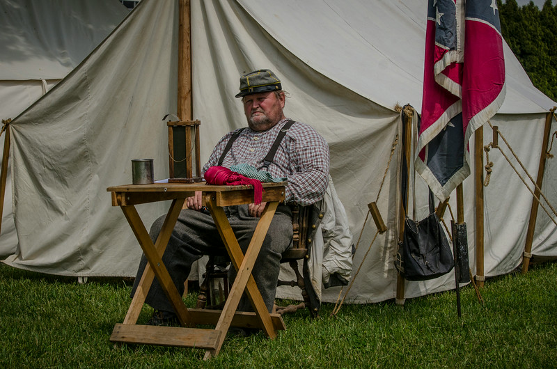 Civil War Reinactors 2013