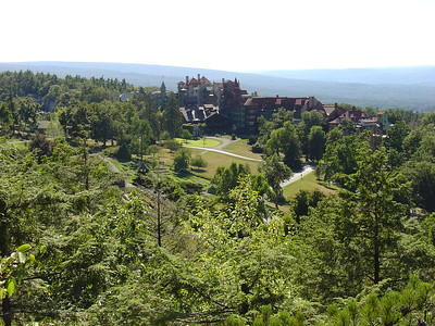 Hiking at Mohonk August 2010