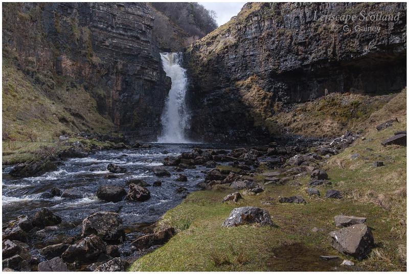Lealt River falls, Inver Tote, Isle of Skye