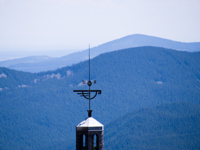 The weathervane on Timberline
