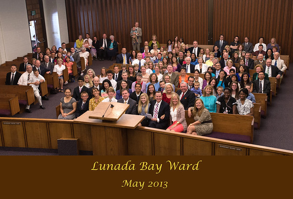 Lunada Bay Ward Family Photo