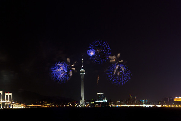 2011-09-10 Macau Fireworks (South Korea)
