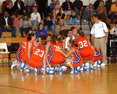 Marshall County Girls Varsity Basketball vs. Fort Walton Beach December 29, 2005.  Lady Marshals lose 47-34.