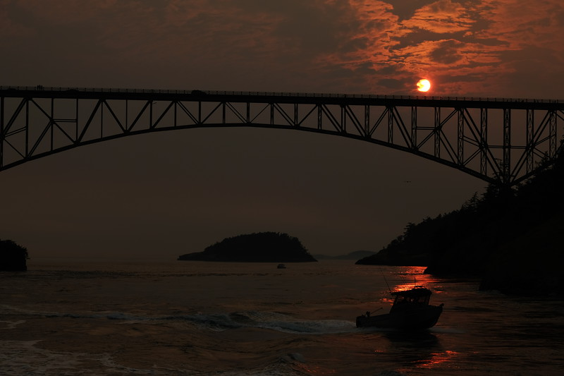 Deception Pass Two Fishing Boat in Sunset 3.JPG