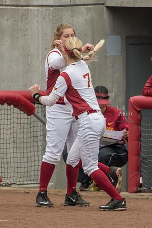 ISU Softball vs OK State 04/14/17