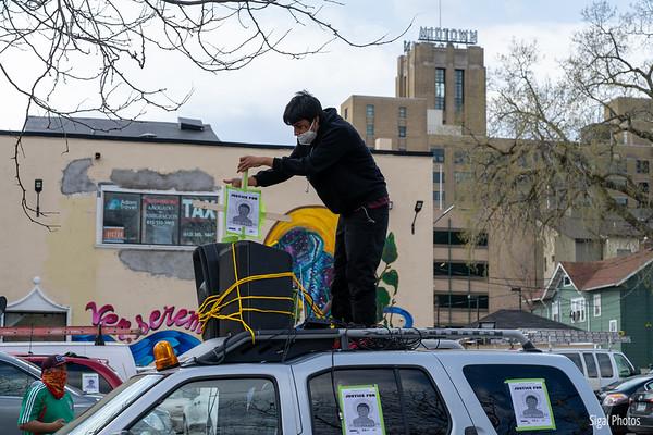 2021 04 18 Justice for Adam Toledo Car Caravan Protest
