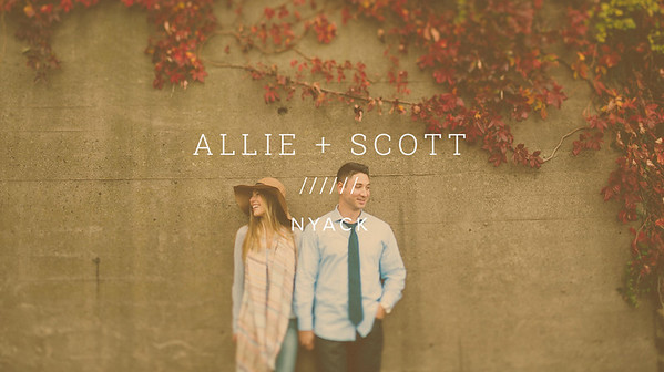 ALLIE + SCOTT ////// NYACK