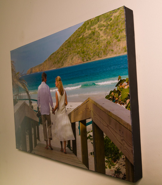 Frame-Free Reflection-Free Print