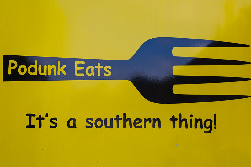 The Podunk Eats food truck, located on Ellison Wilson Road, across from Bert Wilders Park in Juno Beach, FL on Tuesday, February 25, 2020. The Podunk Eats food truck, owned by Angela and Dario Grear, specializes in southern comfrort food. [JOSEPH FORZANO/palmbeachpost.com]