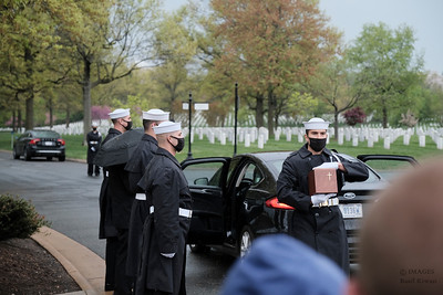 Rich and Larry Memorial at Arlington National Cemetary