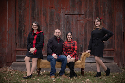 Rios Family Holiday Mini Session Outdoor Rustic Red Barn Tree Farm Nature Fun Playful Candid Happy Cute Formal Portrait Mini Holiday Kimberly Hatch Photography Western Mass New England Photographer Mill Crane Pond Westfield Photo Studio Western Mass Massa