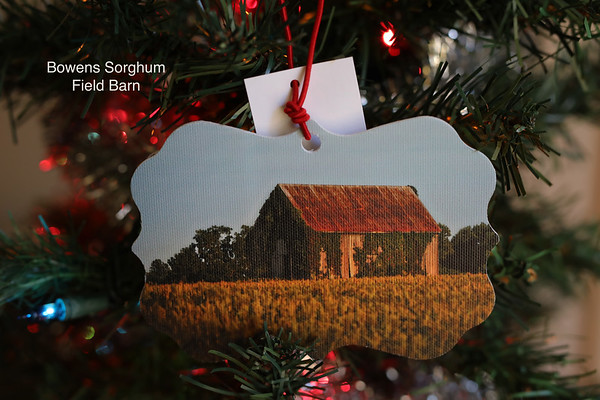 2018 Barns of Calvert Ornament Options