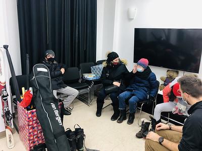 Essayage de nouveaux skis 2021