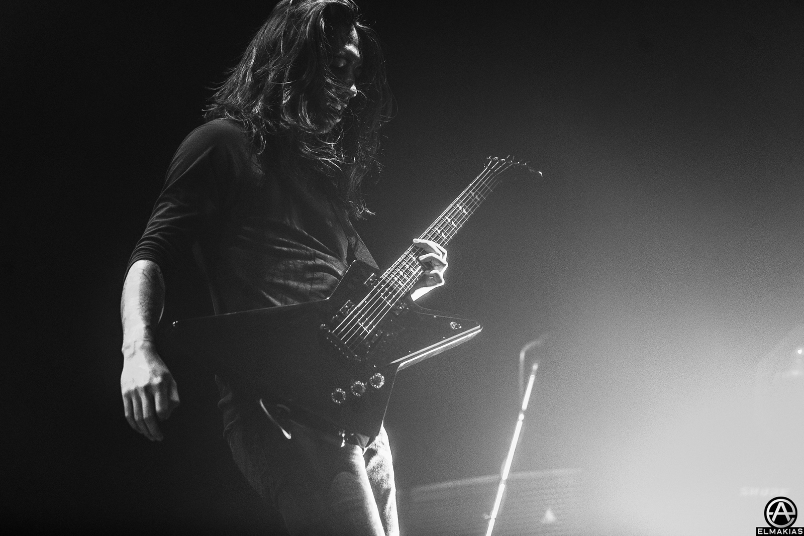 Phil Manansala of Of Mice & Men live at the Hunting Party Tour