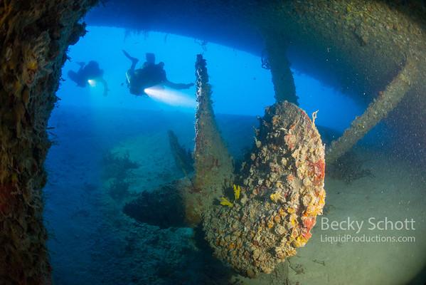 USS Spiegel Grove Wreck & USCG Duane