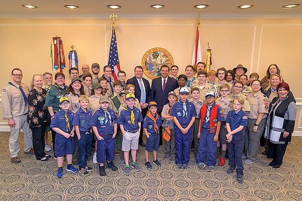 2-12 Boy Scouts Group Photo