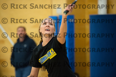 04-11-13 Sandburg Girls Badminton