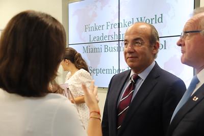 Finker Frenkel World Leaders Lecture Series