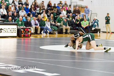 Central Dauphin HS vs. Central Dauphin East HS Wrestling 01.22.2015