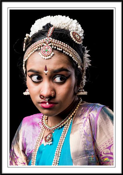 Gayathri's Pre-Arangertam Portraits 2017
