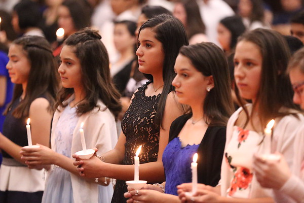 St Gregory NJHS Ceremony