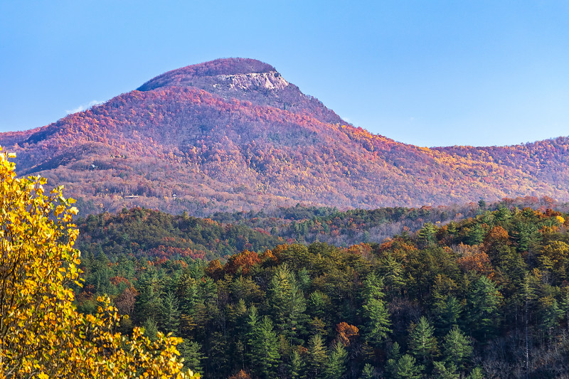 View of Mount Yonah in the distance