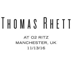 11/13/16 - Manchester, UK