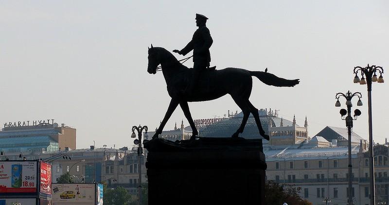 Marshall Zhukov Statue