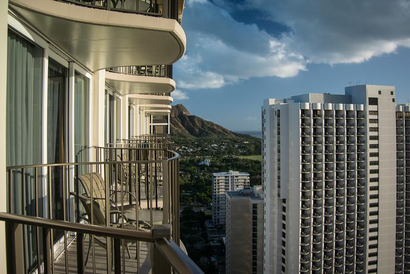 Our hotel - Waikiki Hilton