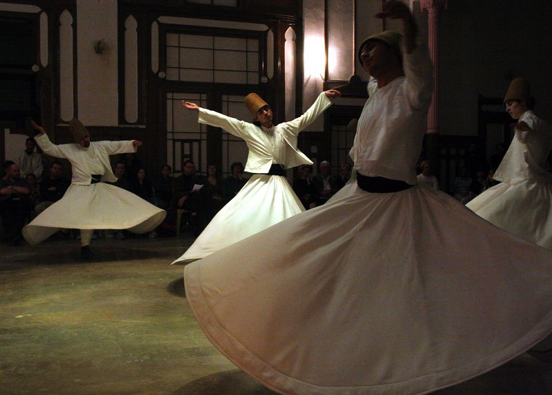 Whirling Dervishes, Istanbul