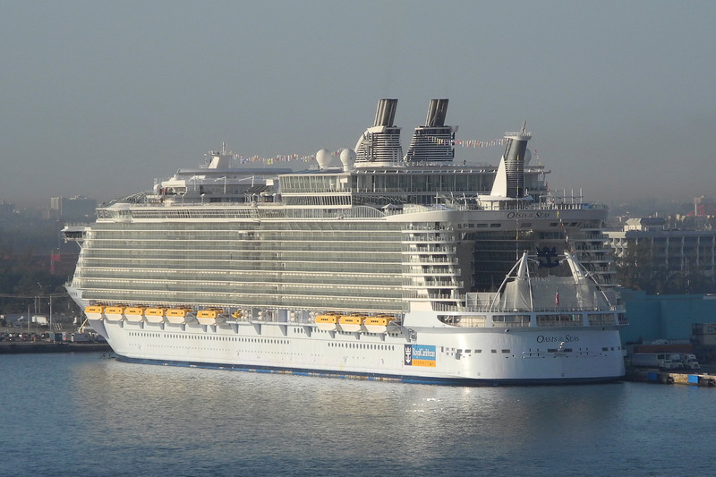 Our Boat is the second Largest cruise ship in the world! Five times the size of Titanic