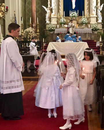 First Communion, May 2019