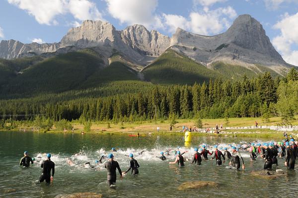 2011 Canmore Xterra - Swim