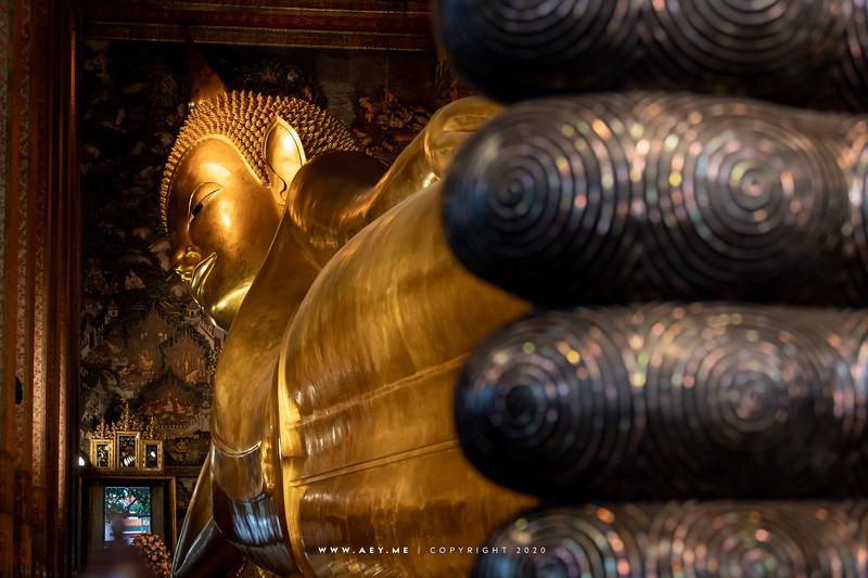 Reclining Buddha & Phra Vihara