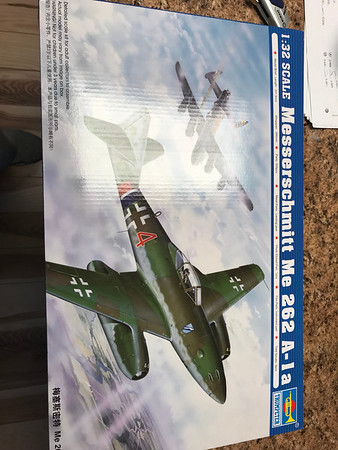 Trumpeter Me262A-1A