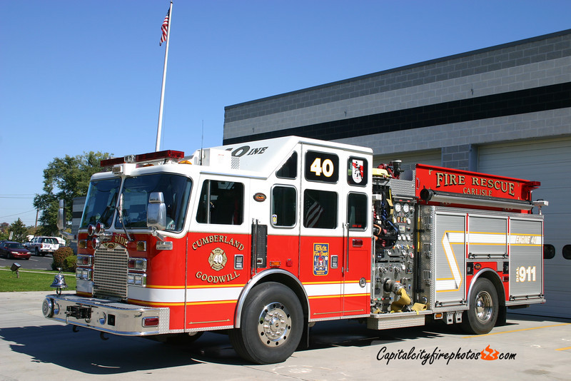 Carlisle Engine 45-1: 2003 KME 2000/800 (X-Engine 40)
