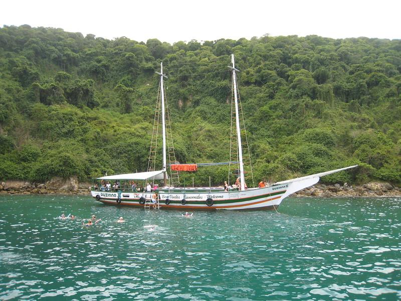 Schooner cruise, Buzios, Brazil