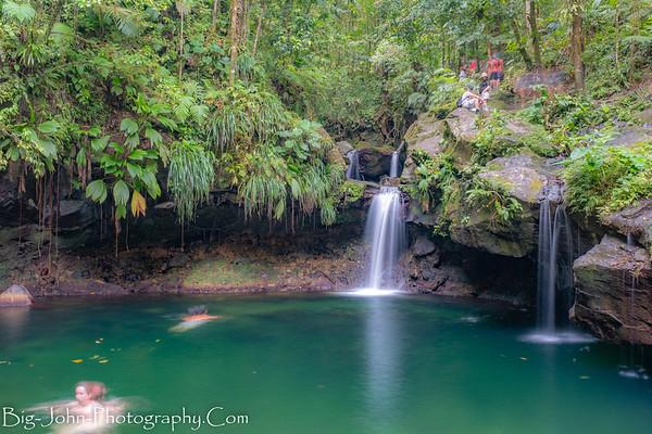 Guadeloupe Island Waterfalls & Hiking 2019