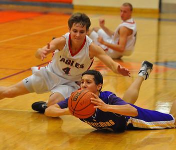 Santiam Christian vs. Harrisburg Boys Basketball