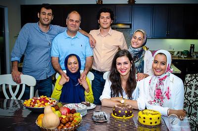 Sahar and Nassim's Birthday, Oct. 2013