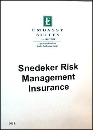 Snedeker Risk Magnt  2018 Conference