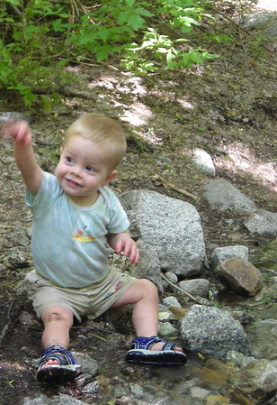 Nate's First Hike!