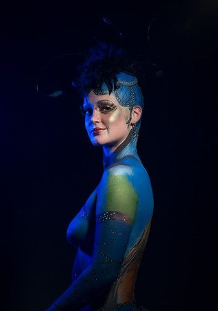 Body Paint Competition Theme Insects 2016.
